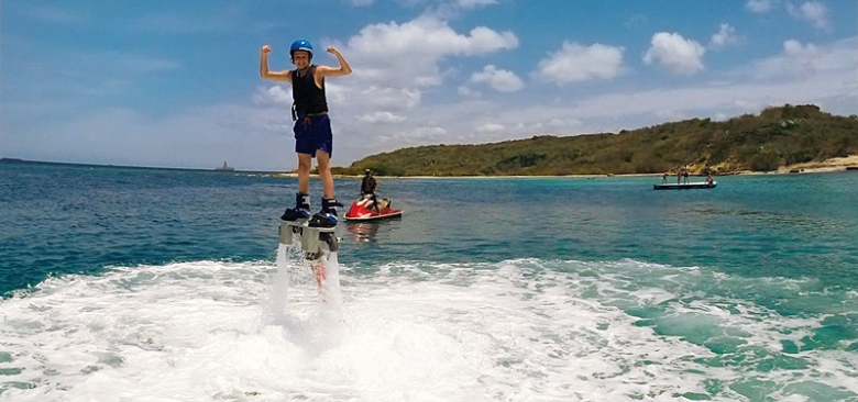 Zapata Flyboard at Jan Thiel Beach